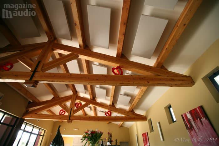 traitement acoustique du plafond