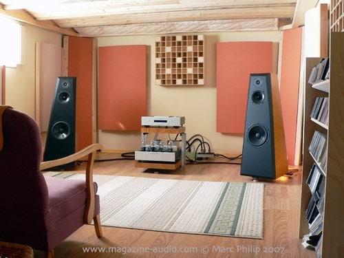 Aurum Acoustics active system