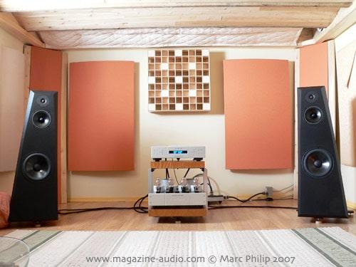 le système Aurum Acoustics integris