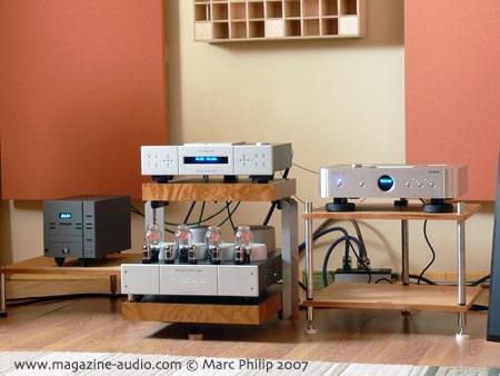 contexte du banc d'essai Shanling CD 300 CD player