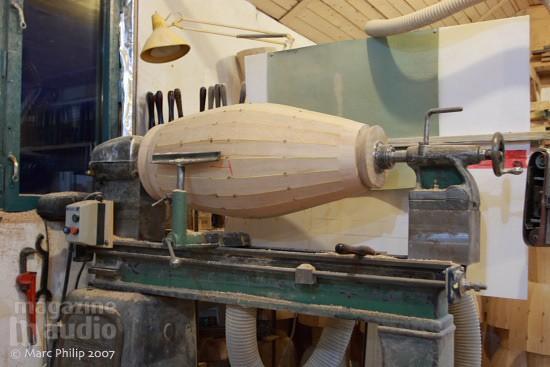 Tour à bois Tambour Moperc