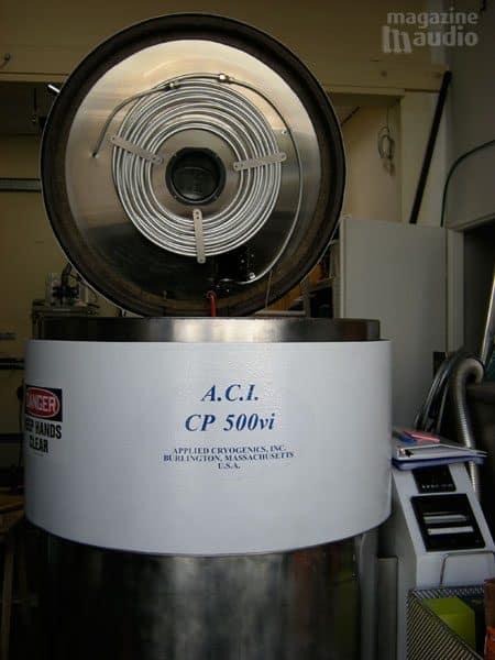cuve autoclave pour cryogéner