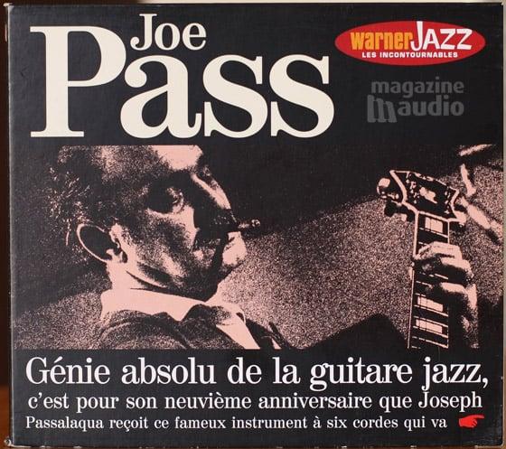 Pochette du CD de Joe Pass