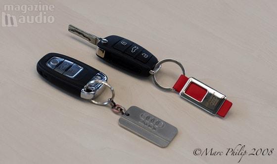 automobile Audi les clés