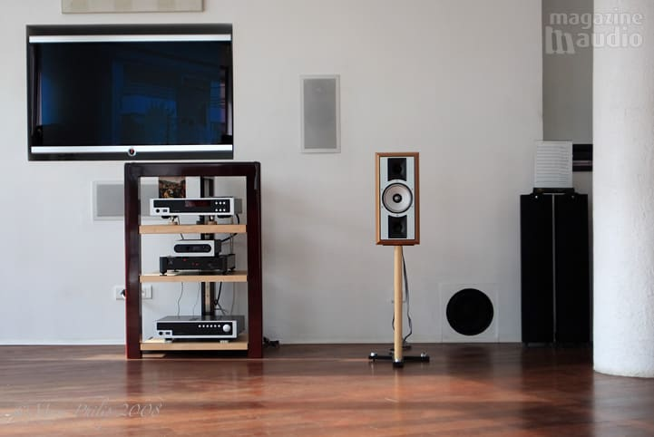 Thiel SCS4 main stereo system