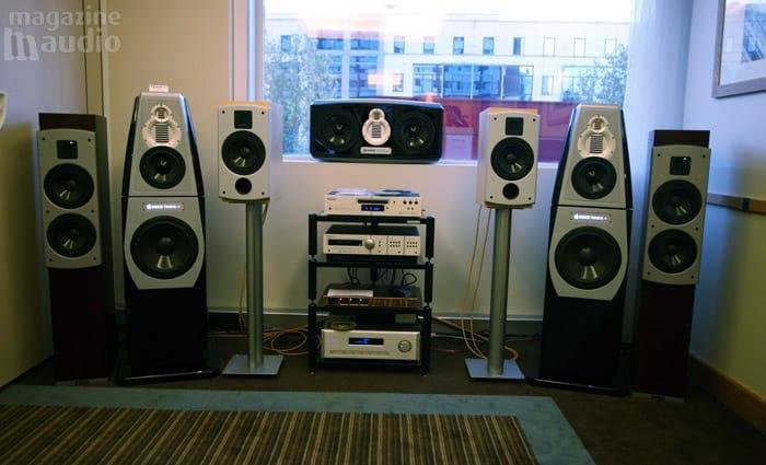 gamme des haut-parleurs Adam spat 2008