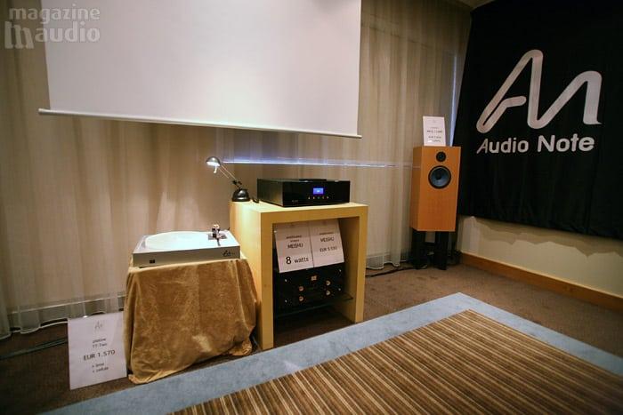 Audio Note spat 2008