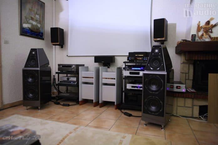 Wilson Audio Watt Puppy 7 et Halcra 68