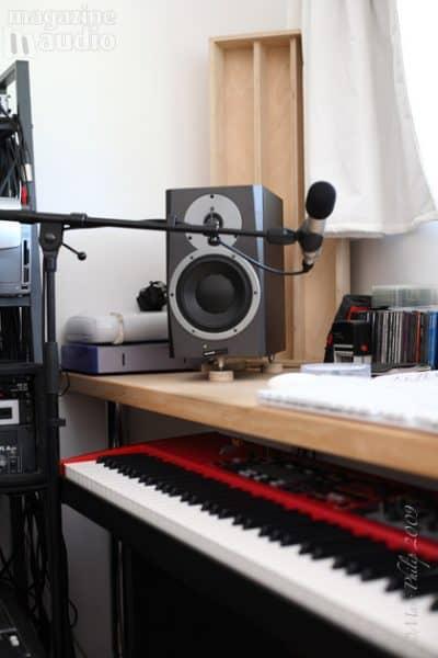 couplage des moniteur de studio
