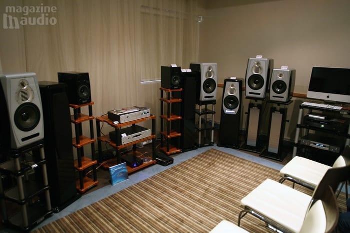 Adam speakers spat 2008