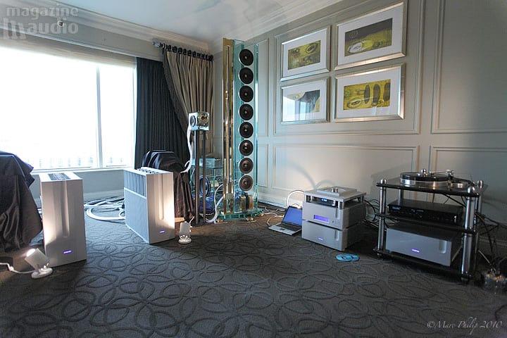 Perfect8 set up CES 2010
