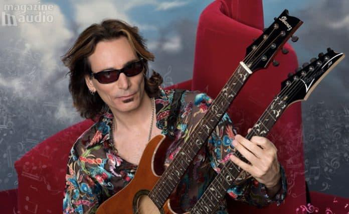 Steve Vai double guitares