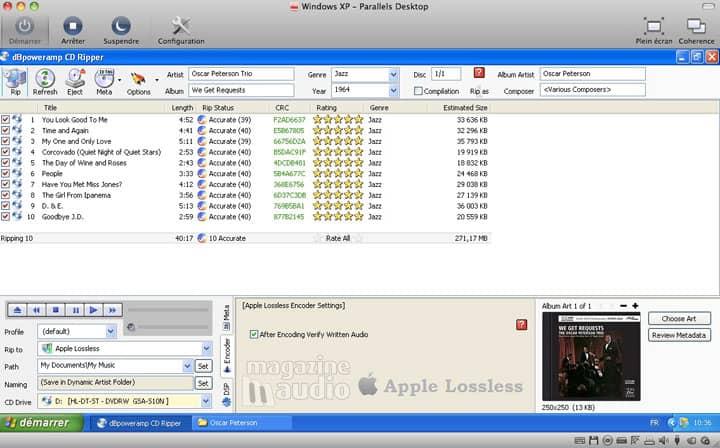 dBpoweramp : Apple Lossless