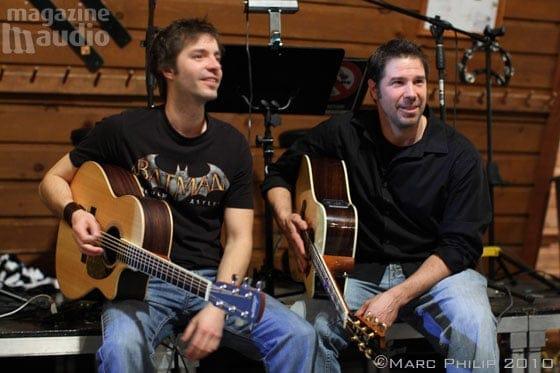 Vincent Houle et Alain Guévin guitaristes