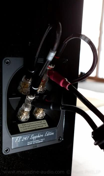 Sapphire High Gloss White Laminate Platform Bedroom Set: ELAC FS 247 Et Sapphire Edition Part 2