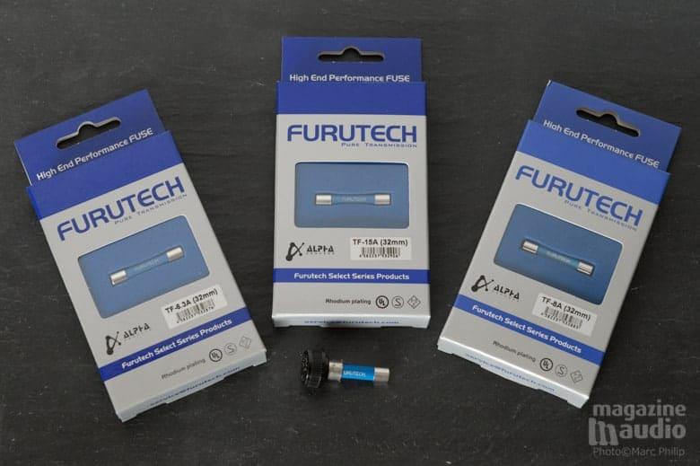 Fusibles Furutech Rhodium