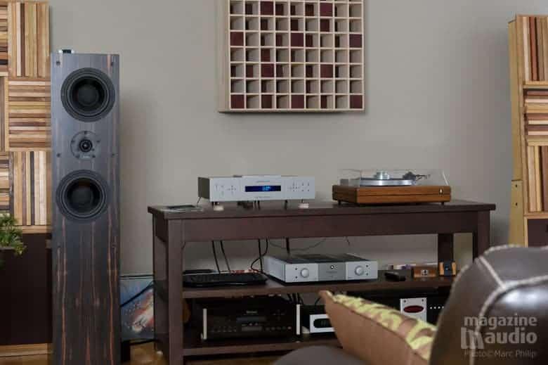 CDP integris Aurum Acoustics + ProacD38 + amplificateur Stormaudio V55