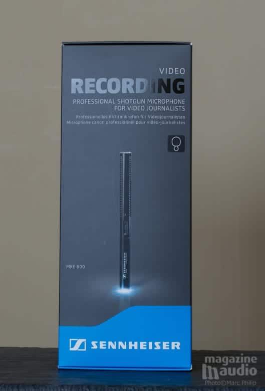 Microphone de type shotgun Sennheiser MKE 600
