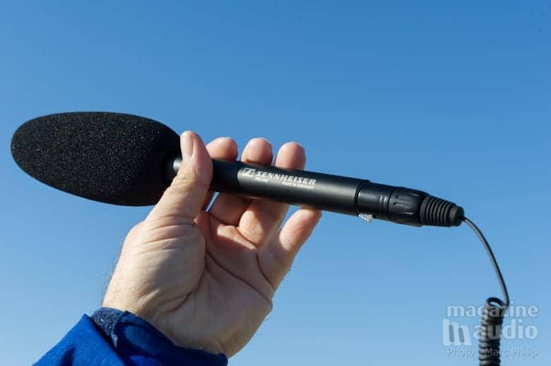 Sennheiser MKE 600 idéal pour le vidéo journalisme