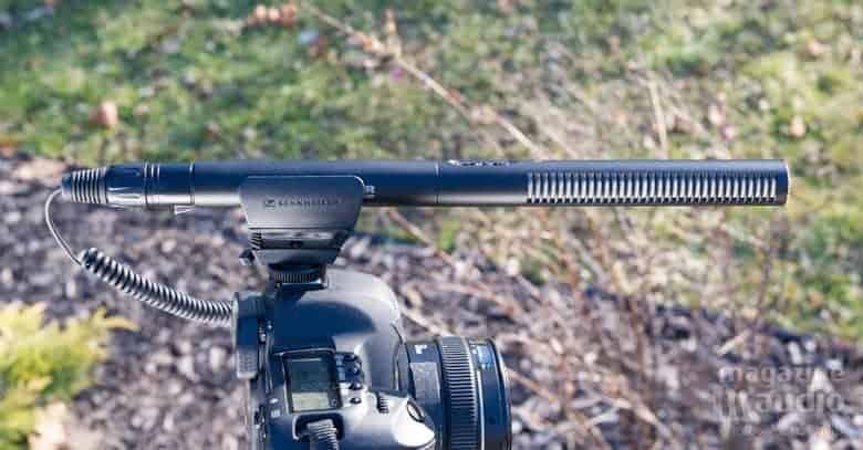Micro Sennheiser MKE 600