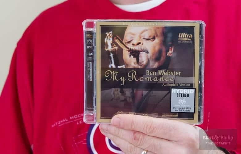 Ben Webster re-masterisé en 32 bits / 192kHz par Top Music