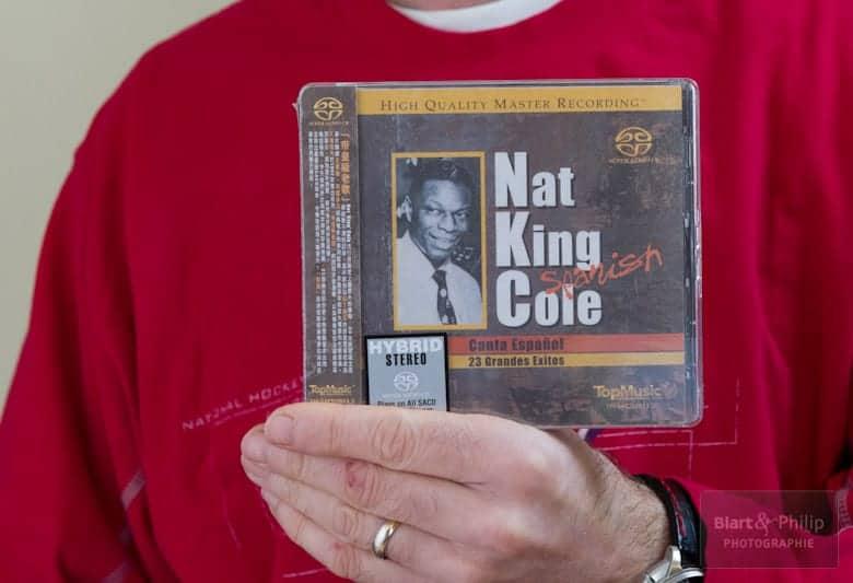 Nat King Cole chante en espagnol, disque re-masterisé par Top Music