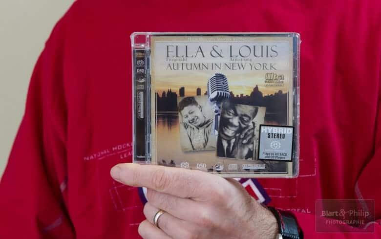 Ella & Louis édité par Top Music en version audiophile