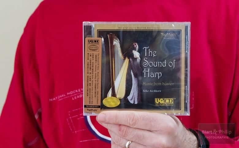 The sound of harp en version audiophile re-masterisé par Top Music