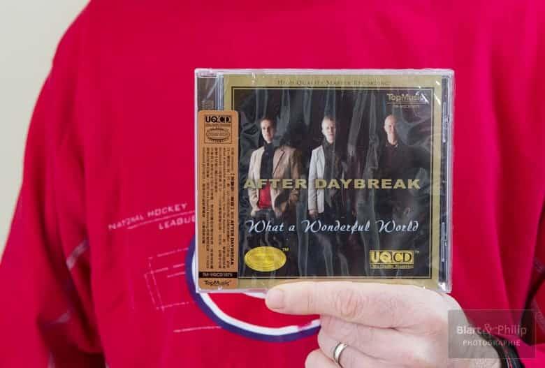 After daybreak en version UQ-CD édité par Top Music