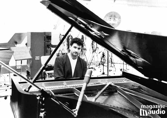Martin Vatter au studio Bauer en 1994