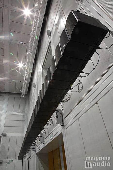 Sonorisation de l'espace de projection IRCAM par Amadeus
