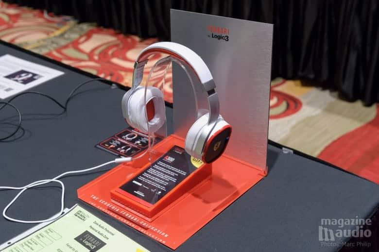 Le coup de cœur de Marc-Antoine, le casque stéréo Logic 3 modèle R300 design by Ferrai.