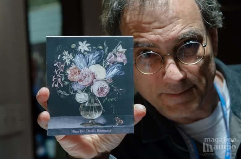 La recommandation de Todd Garfinkle. Nima Ben David album Resonance.