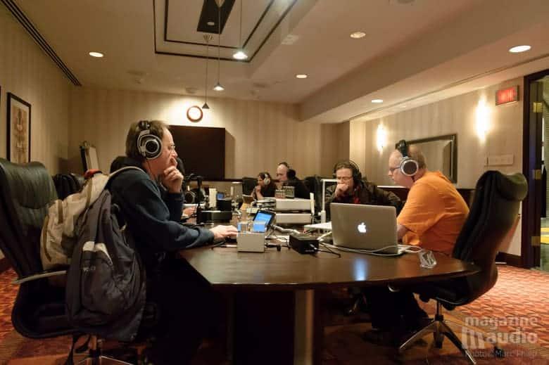 La salle de démo Woo Audio et MA Recording