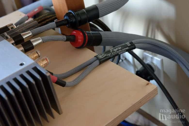 Câbles de haut-parleurs Blueberry Hill Audio de la gamme Basis