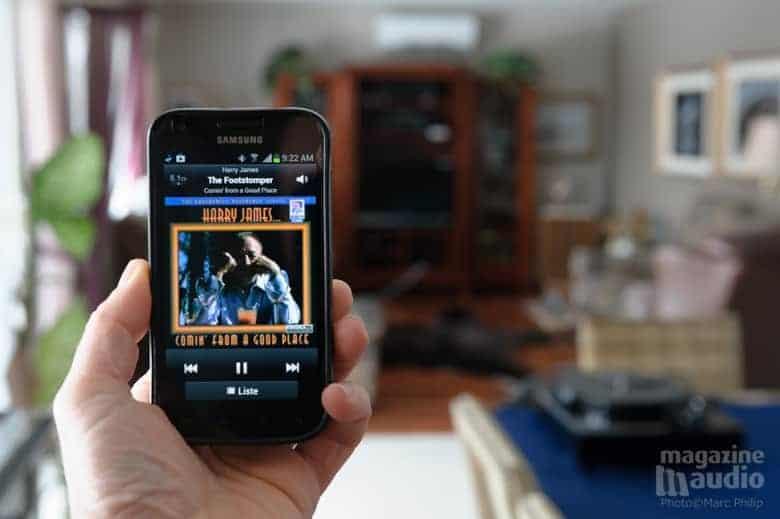 Le téléphone Samsung Galaxy s'est connecté avec succès au Relay