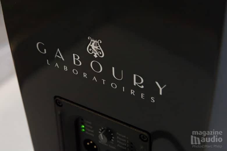 La signature du concepteur, Robert Gaboury.