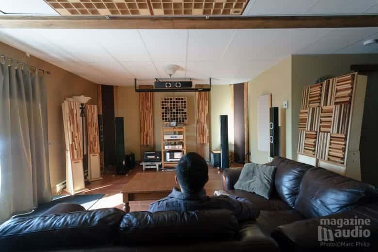 Salle de référence de Alain Provencher (Pro Design Audio)