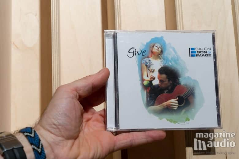 The Give band avec Caroline St Pierre et Stephan Ritch