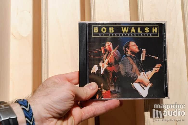 Bob Walsh en concert.