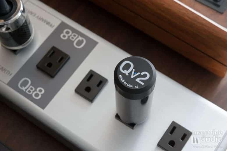 Module harmoniseur Qv2 sur la berrette Quantum Qb8