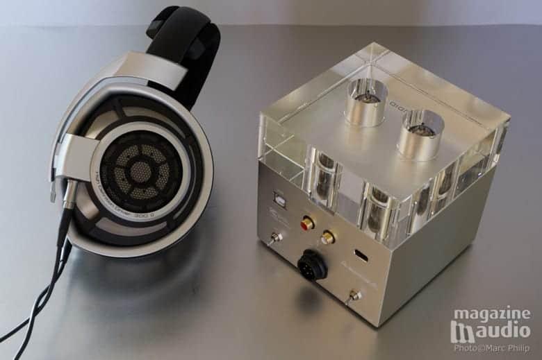 Sennheiser HD800 et WA7 Fireflies de Woo Audio, un très bon match.