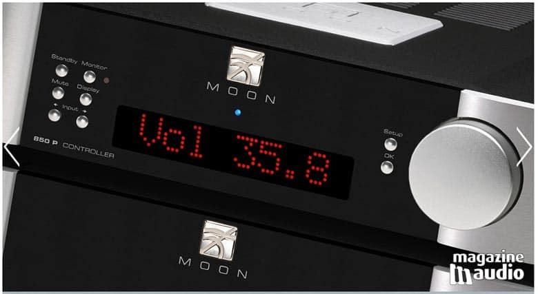 Moon by Simaudio, les plus beaux appareils de l'industrie de la hifi.