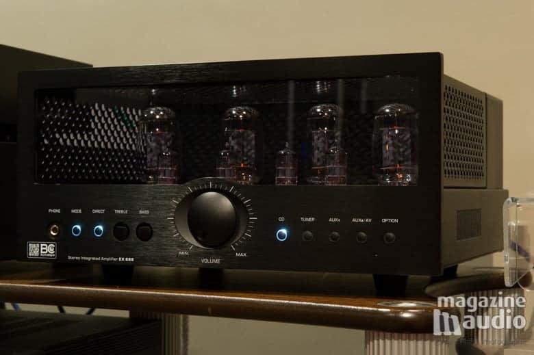 Amplificateur intégré à tubes l'EX888 de BC Acoustique