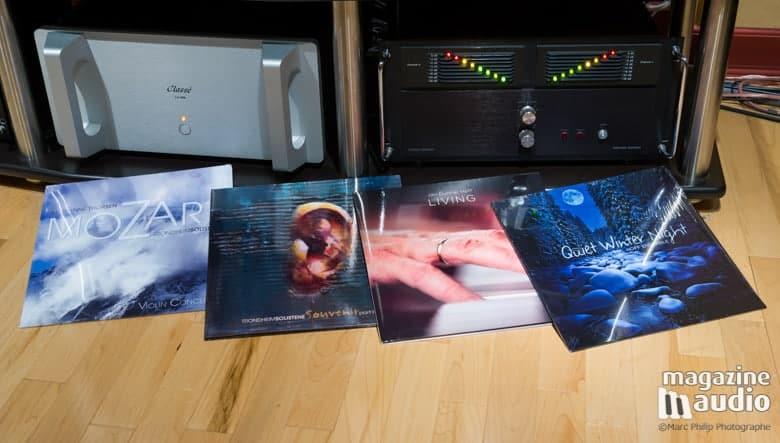 Les 4 références en vinyle