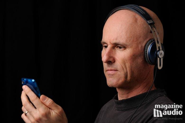 Ecoutes de musique depuis un iPod4 avec les Sennheiser On-Ear