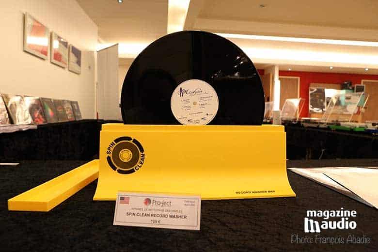 Système de nettoyage des vinyles Spin-Clean.