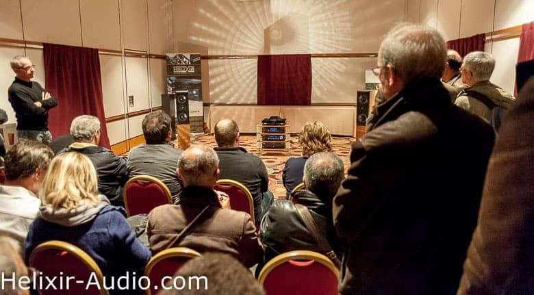 Helixir Audio lors du salon Haute-Fidélité 2013 à Paris