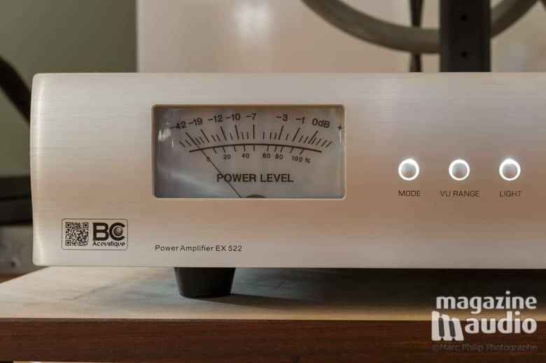 BC Acoustique EX522 power amp