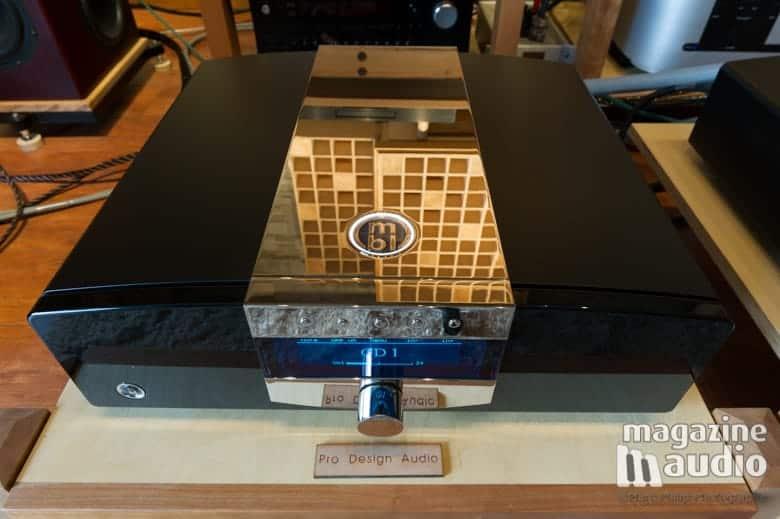 Amplificateur intégré MBL C51 de la série Corona